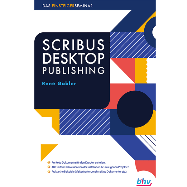 Scribus Desktop Publishing The Beginner S Seminar Bhv