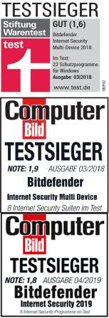 Bitdefender - Testsieger 2018/2019